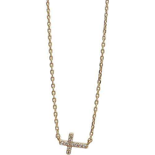 Collier croix ALBA - SECRETS DES ANGES - Modalova