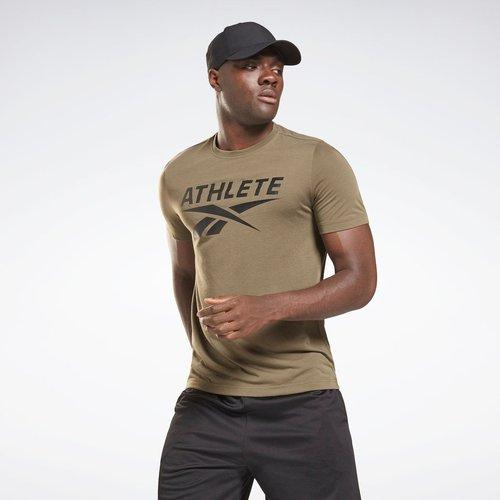 T-shirt Vector Graphic Athlete - REEBOK SPORT - Modalova