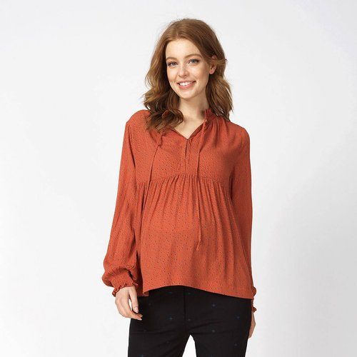 T-shirt manches longues de grossesse Nursing enabeling - QUEEN MUM - Modalova