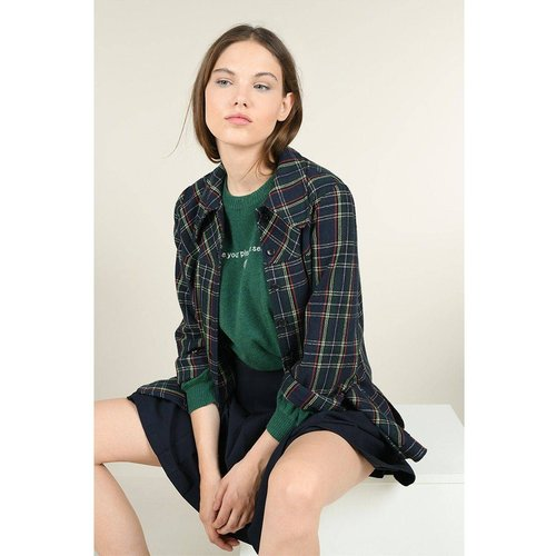 Chemise à carreaux - LILI X MOLLY - Modalova