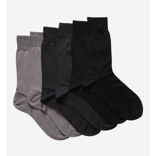 Lot De 3 Paires De Chaussettes En Pur Coton - GALERIES LAFAYETTE - Modalova