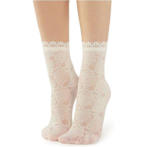 Socquettes mode fleurs et dentelle - CALZEDONIA - Modalova