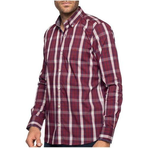 Chemise à carreaux manches longues - SHILTON - Modalova