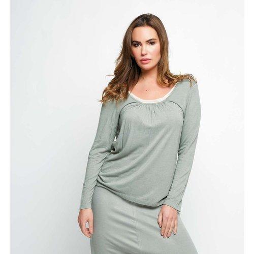 T-shirt double bambou manche longue - BODY ONE - Modalova