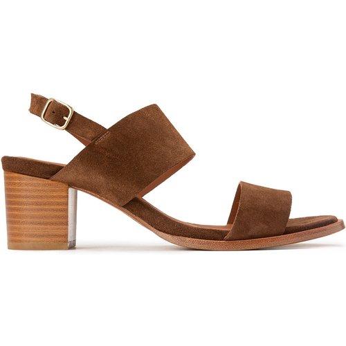Sandales cuir à talon VITA - ANTHOLOGY PARIS - Modalova