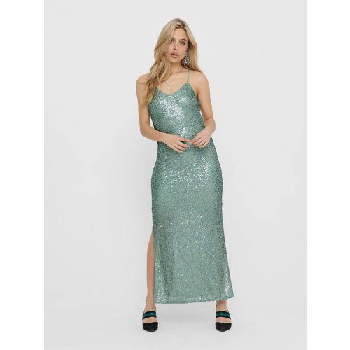 Robe longue Sequins - Only - Modalova