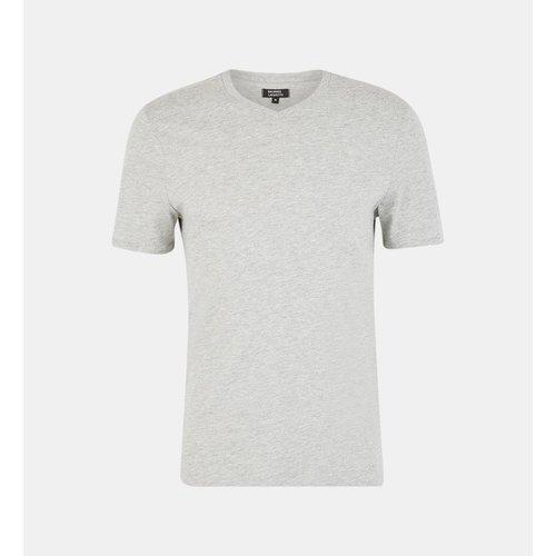 T-shirt Sishev Droit Coton Biologique Col V - GALERIES LAFAYETTE - Modalova