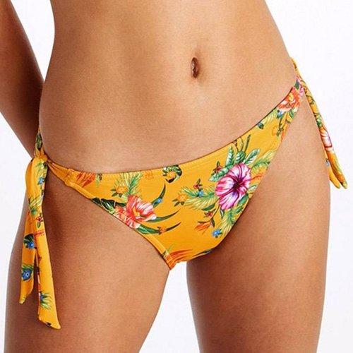 Bas De Bikini Culotte Nouée Dasia Aroha - banana moon - Modalova