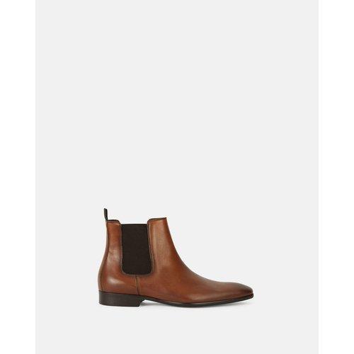 Boots ville cuir ISHEB - MINELLI - Modalova