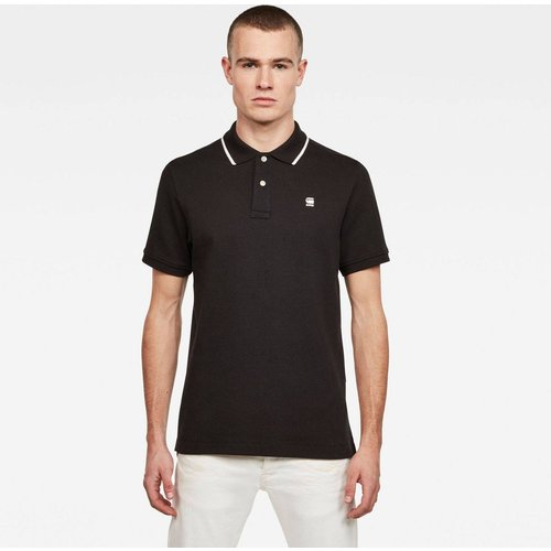 Polo Coupe Manches Courtes Brodé - G-Star Raw - Modalova