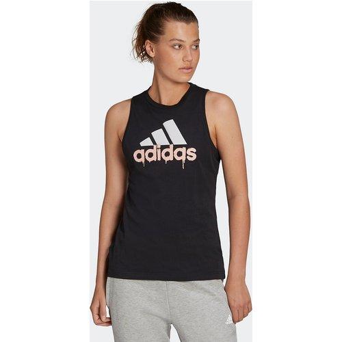 T-shirt col rond sans manches logo - adidas performance - Modalova