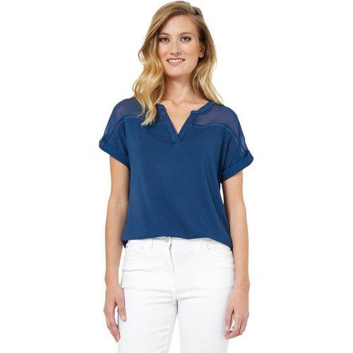 T-Shirt court uni - RIU PARIS - Modalova