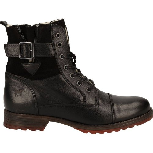 Bottines Imitation cuir - mustang - Modalova
