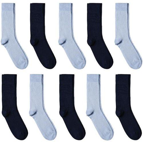 Chaussettes coton - Assortiment 10 paires - Fabriqué en europe - DANDYTOUCH - Modalova