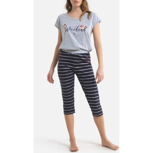 Pyjama corsaire coton Splash - MELISSA BROWN - Modalova