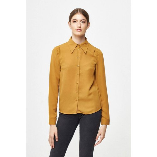 Blouse boutonnée unie - BEST MOUNTAIN - Modalova