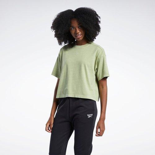 T-shirt crop teinte naturelle - Reebok Classics - Modalova