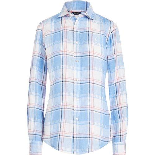 Chemise en lin à carreaux, manches longues - Polo Ralph Lauren - Modalova