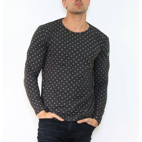 T-shirt manche longue col rond KAORINE - HopenLife - Modalova