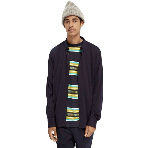 Chemise tricotée en jersey - Scotch & Soda - Modalova