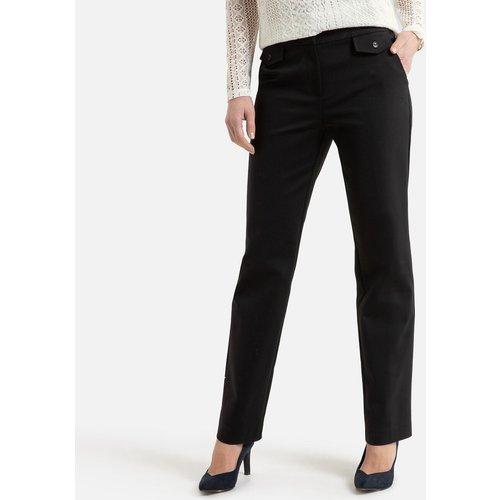 Pantalon droit coton mélangé - Anne weyburn - Modalova
