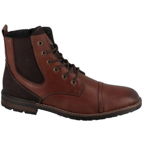 Boots lacets fins bout rond - Rieker - Modalova
