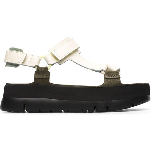Sandales compensées cuir ORUGA UP - Camper - Modalova