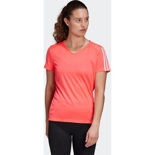T-shirt de running col V manches courtes - adidas performance - Modalova