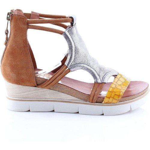 Sandales cuir talon compensé Tapasita - MJUS - Modalova