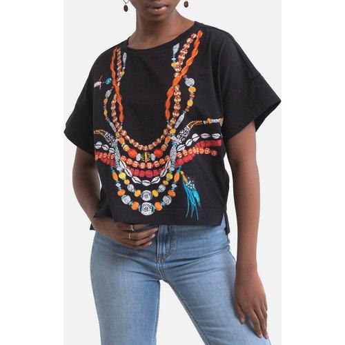 T-shirt col rond à motifs Echelle - DERHY - Modalova