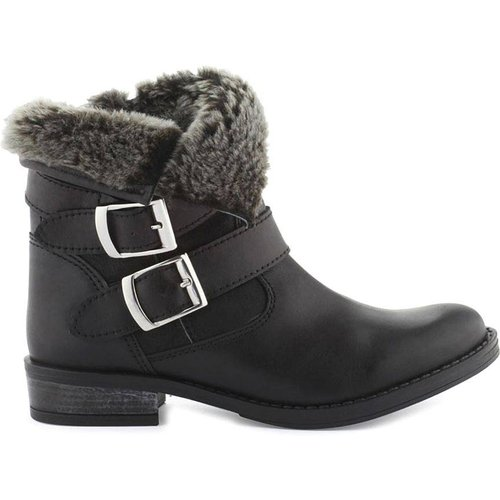 Boots motardes cuir Fatana - COSMOPARIS - Modalova