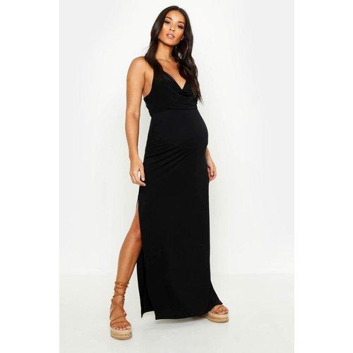 Jupe de grossesse longue - BOOHOO MATERNITY - Modalova