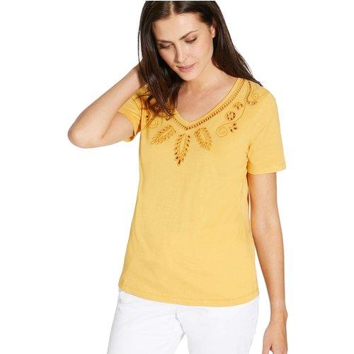 Tee-shirt avec broderies - CHARMANCE - Modalova