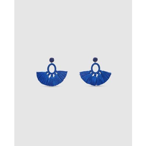 Boucles d'oreilles franges ethniques - FORMULA JOVEN - Modalova