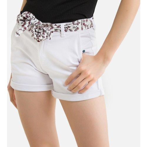 Short avec ceinture tissu - LE TEMPS DES CERISES - Modalova