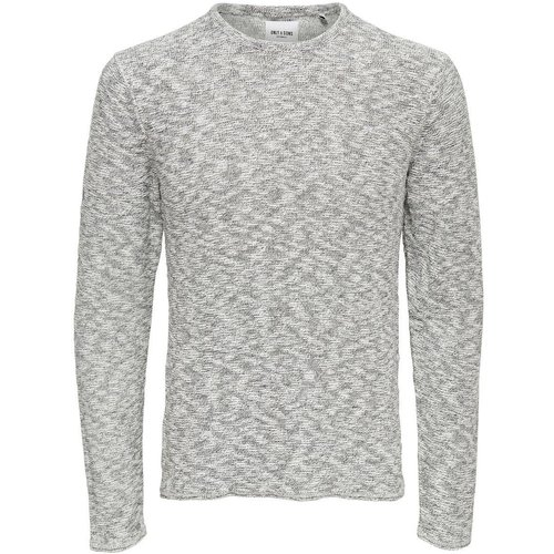 Pull col rond fine maille - ONLY ET SONS - Modalova