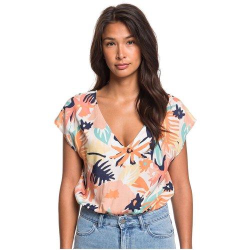 T-Shirt, sans manches, col rond, Imprimé - Roxy - Modalova