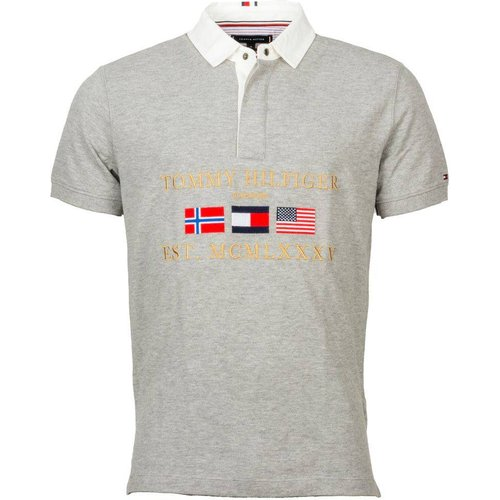 Polo manches courtes coton Relaxed Rugby - Tommy Hilfiger - Modalova