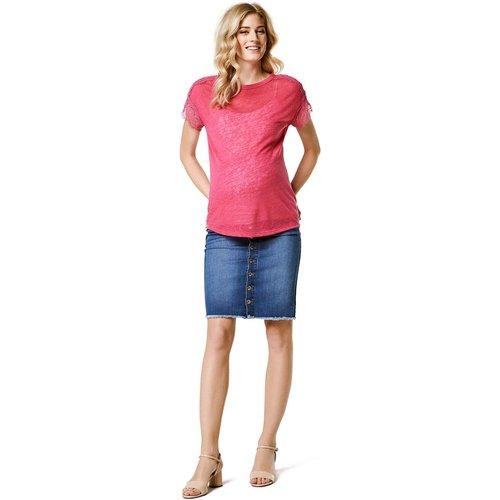 Jupe en jean de grossesse - ESPRIT FOR MUMS - Modalova
