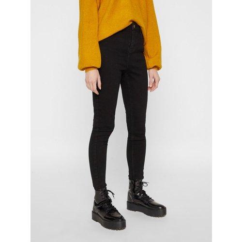 Jean skinny Taille haute - Pieces - Modalova