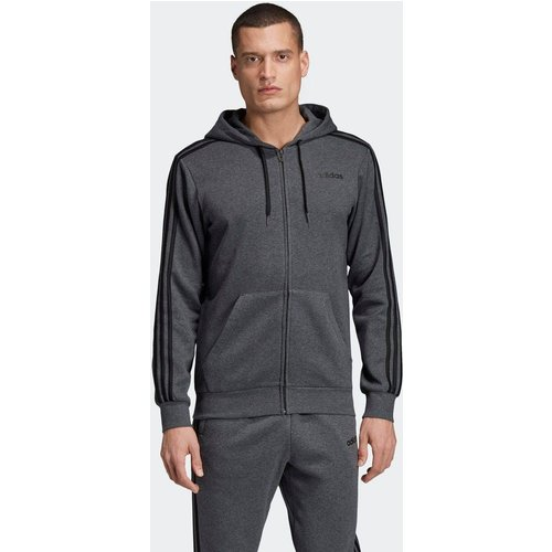Veste à capuche en molleton Essentials3-Stripes - adidas performance - Modalova