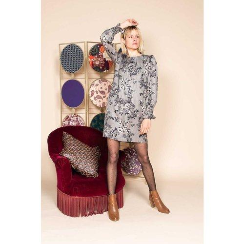 Robe courte fleurie - Modèle Email - DERHY - Modalova