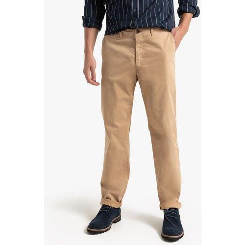 Pantalon chino droit en coton stretch - Benetton - Modalova