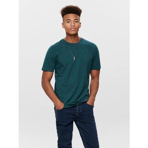 T-Shirt Imprimé coupe droite - ONLY ET SONS - Modalova