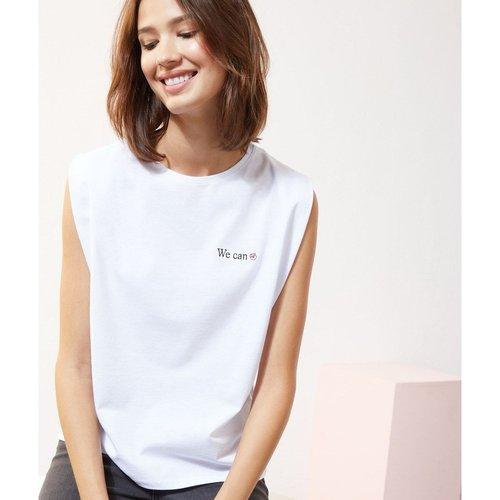 T-shirt col rond manches courtes YOU - ETAM - Modalova
