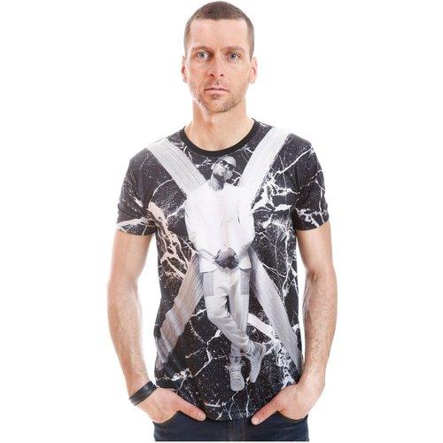 Tshirt manches courtes GOV 11457-103-BK - GOV DENIM - Modalova