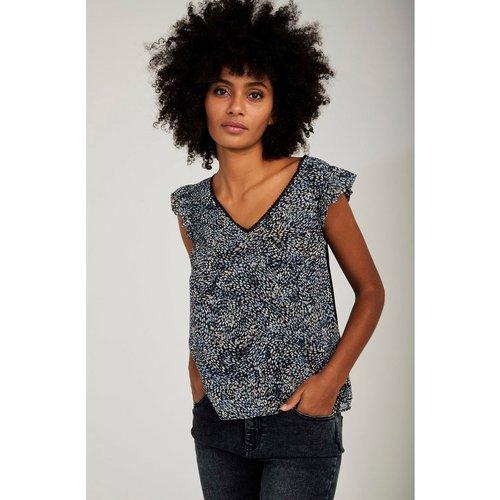 Tee-shirt sans manche imprimé - Naf Naf - Modalova
