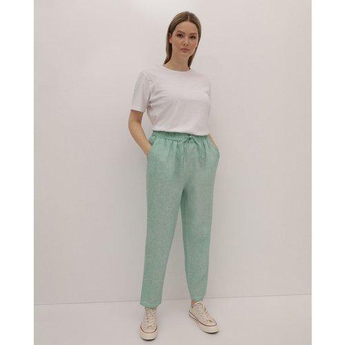 Pantalon fluide 100% lin - COUCHEL - Modalova
