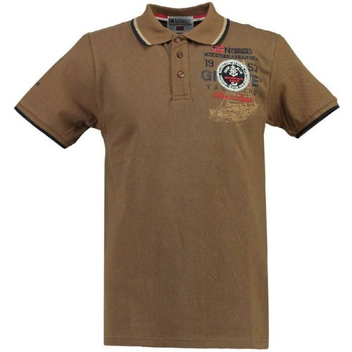 Polo manches courtes KAVIGATION - geographical norway - Modalova
