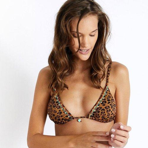 Haut De Bikini Culotte Nouée Mojao Serengeti - banana moon - Modalova